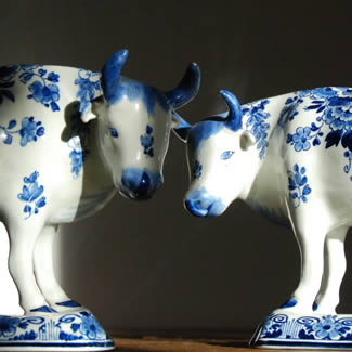 Antique Delft Cows | Juliette Bogaers | Dutch Care At Home